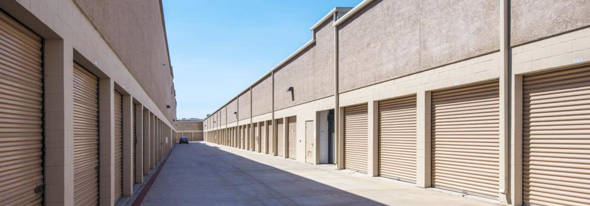 Outdoor units at Jamacha Point Self Storage in Spring Valley, California