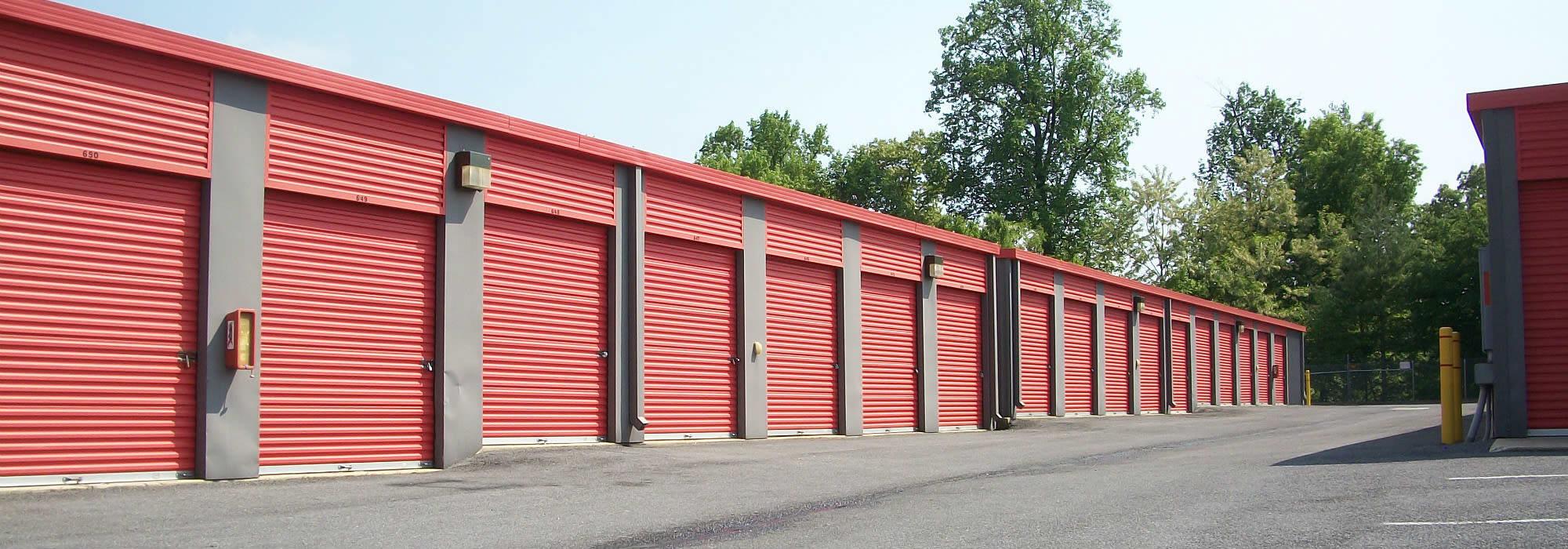 Self storage in Laurel MD
