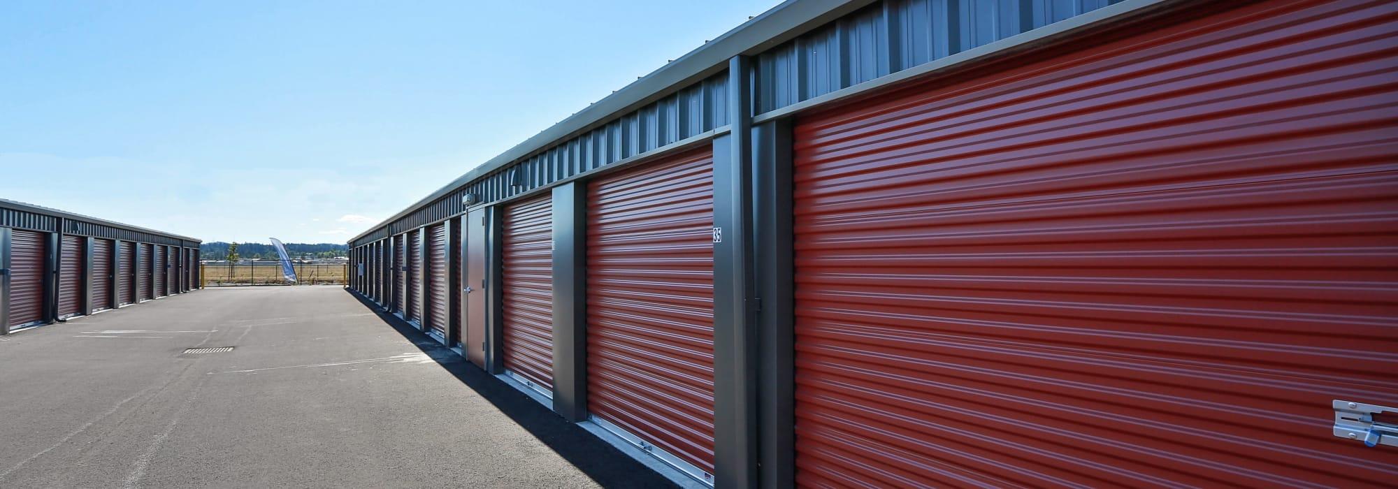 Self storage in Salem, Oregon