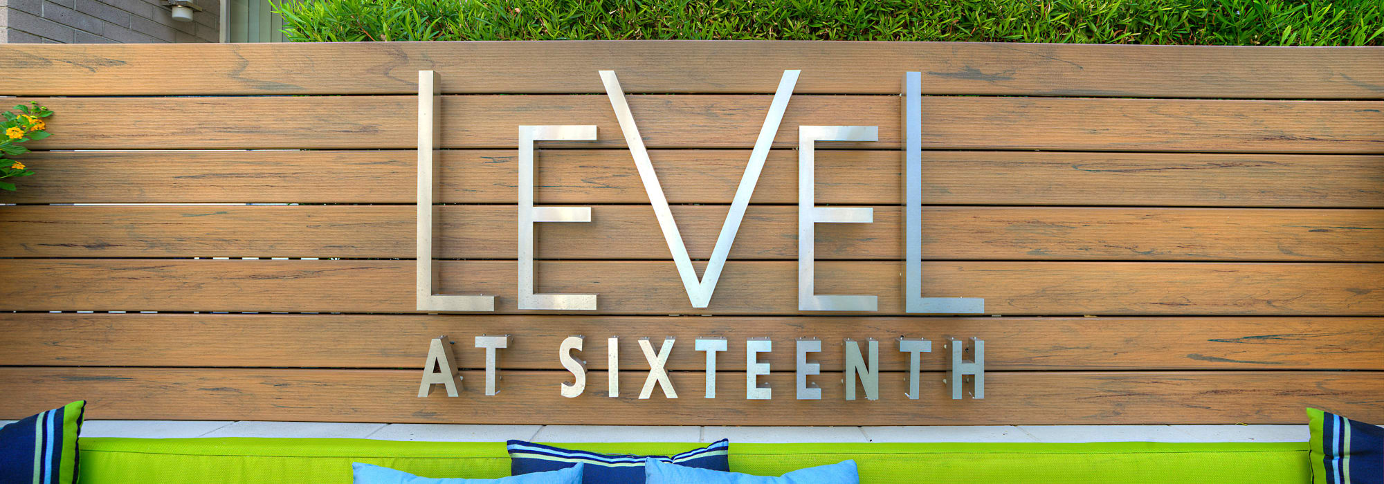 Our sign at Level at Sixteenth in Phoenix, Arizona