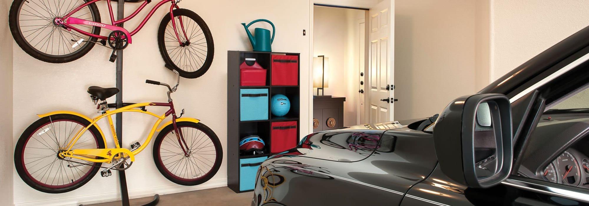 Private garage for apartment home at San Milan in Phoenix, Arizona