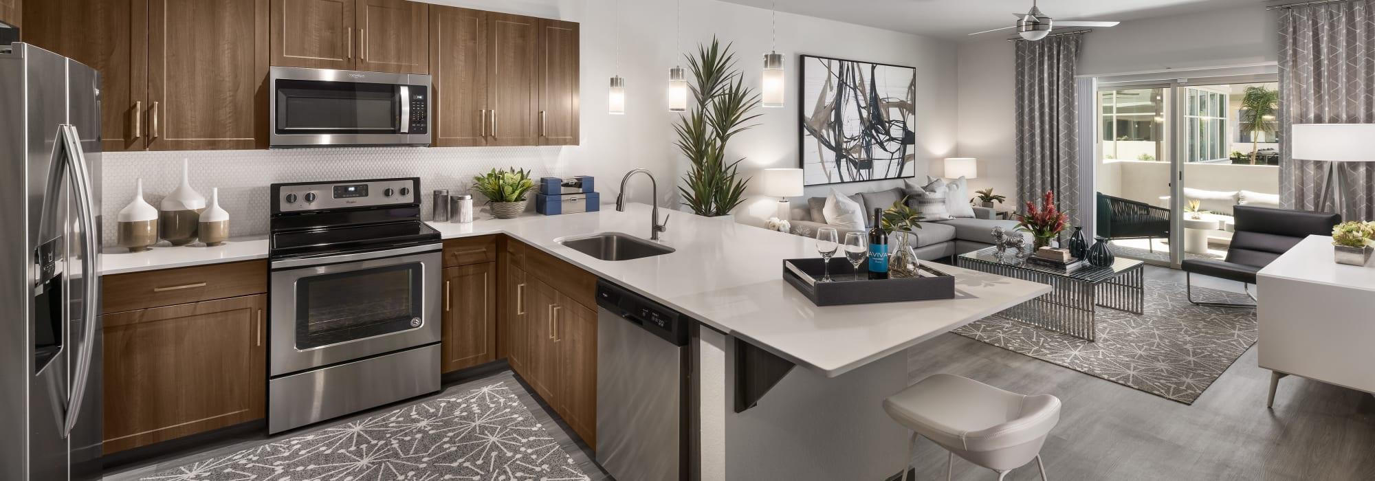 Luxury Kitchen at Aviva in Mesa, Arizona