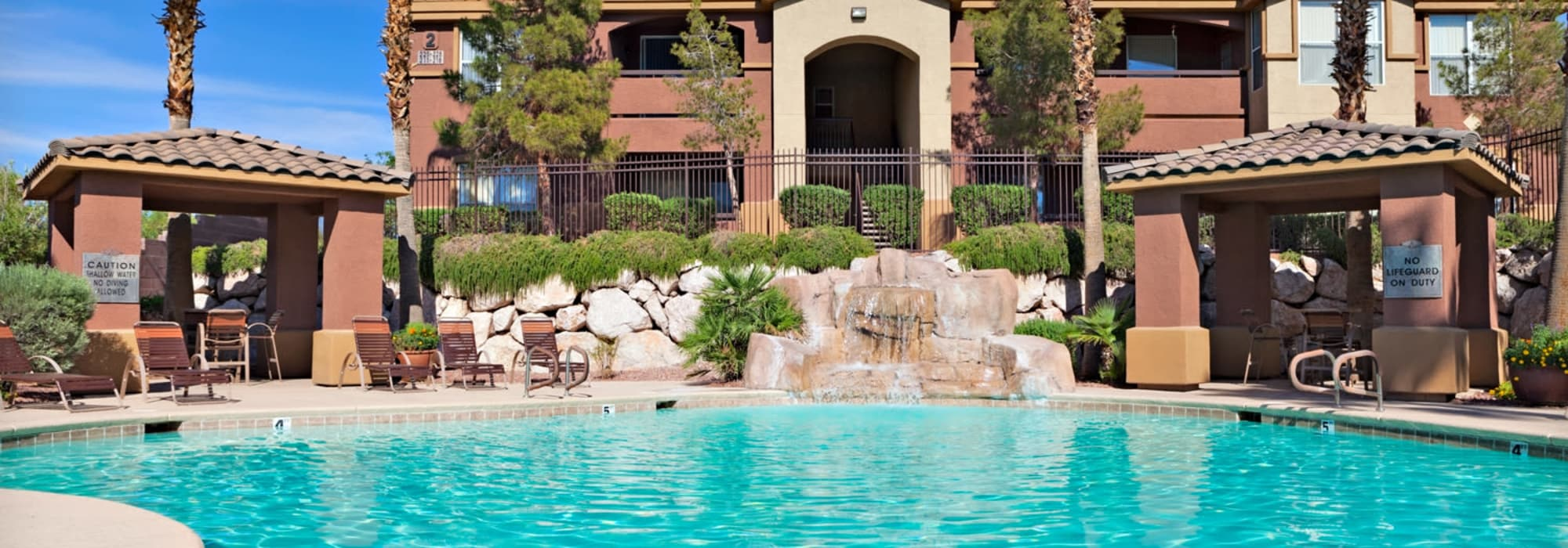 Large swimming pool at Allegro at La Entrada in Henderson, Nevada