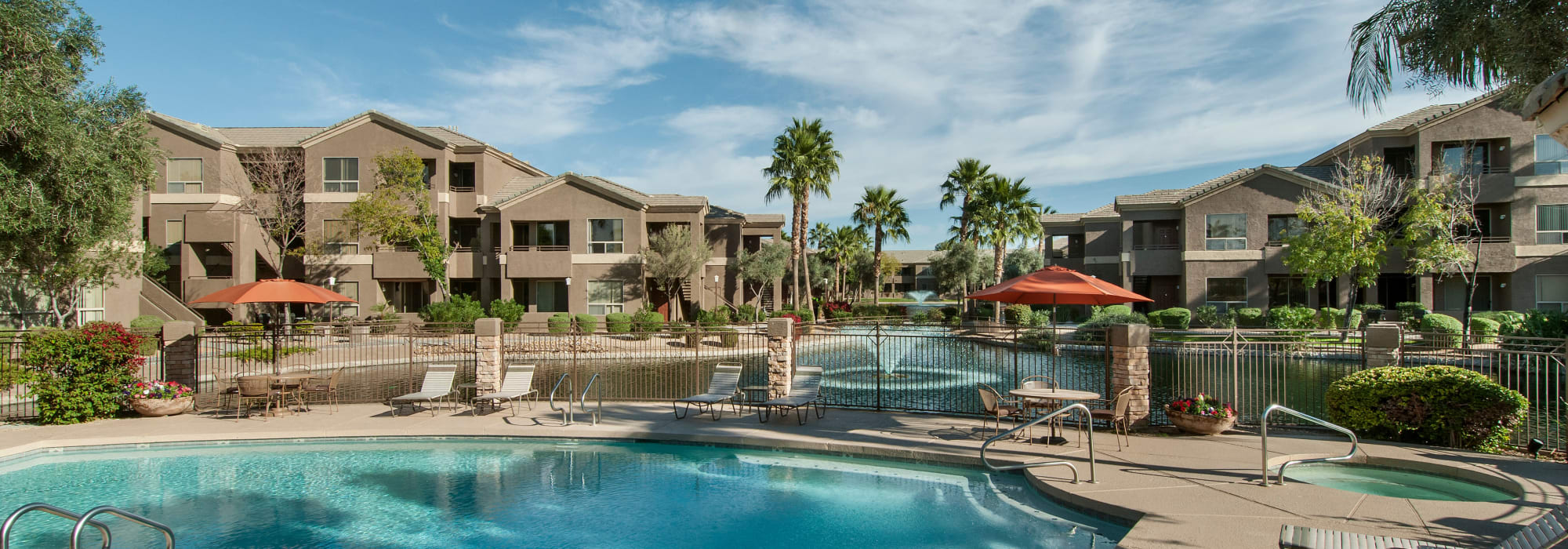 Resident pool at Laguna at Arrowhead Ranch in Glendale, Arizona