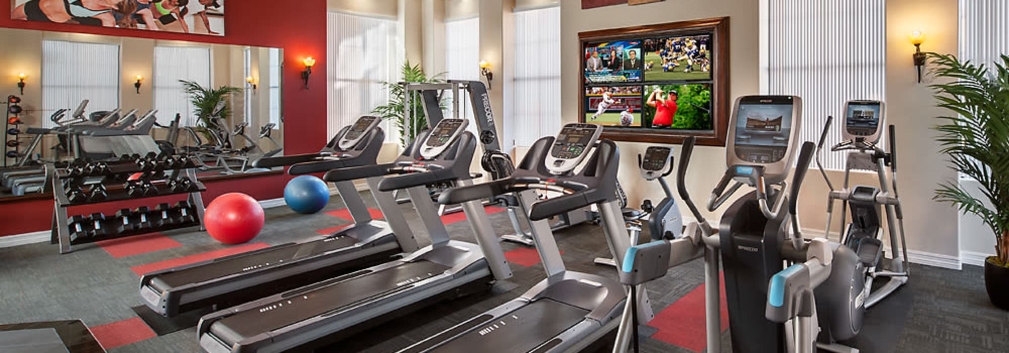 Fitness center at San Norterra in Phoenix, Arizona