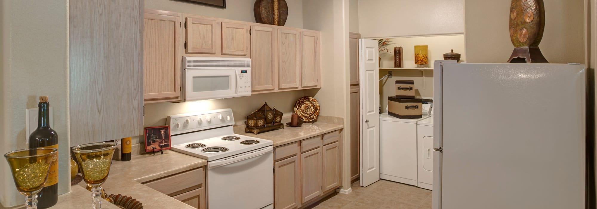 Spacious kitchen at The Regents at Scottsdale in Scottsdale, Arizona