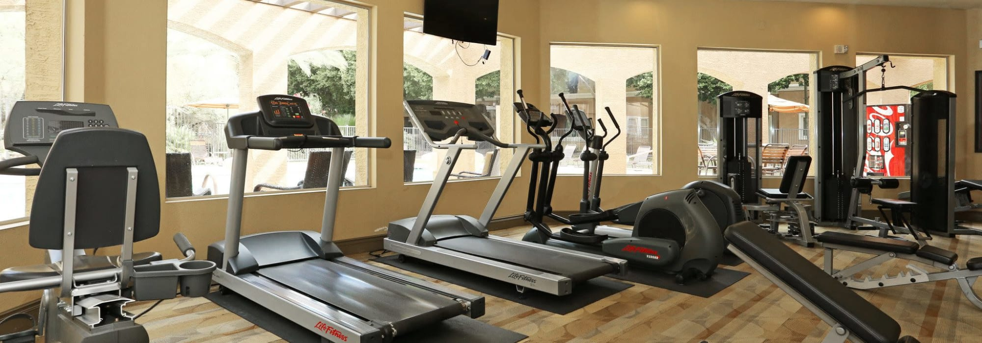 Fitness center at The Regents at Scottsdale in Scottsdale, Arizona