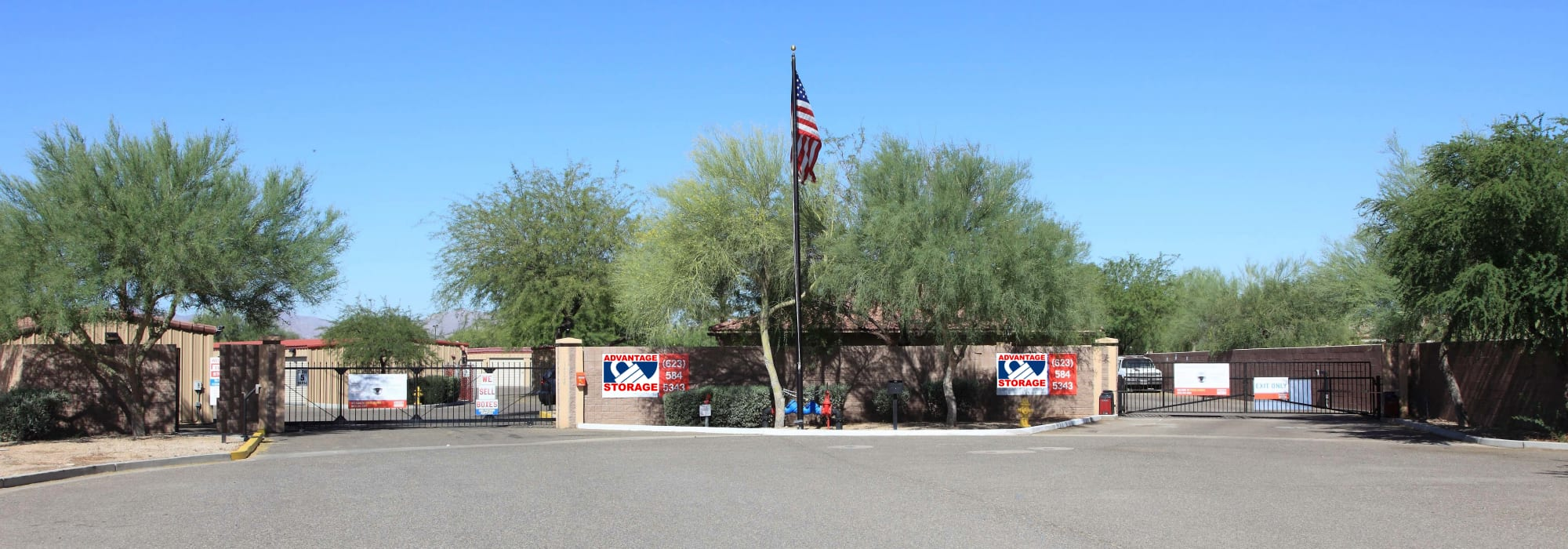 Self storage in Surprise, Arizona