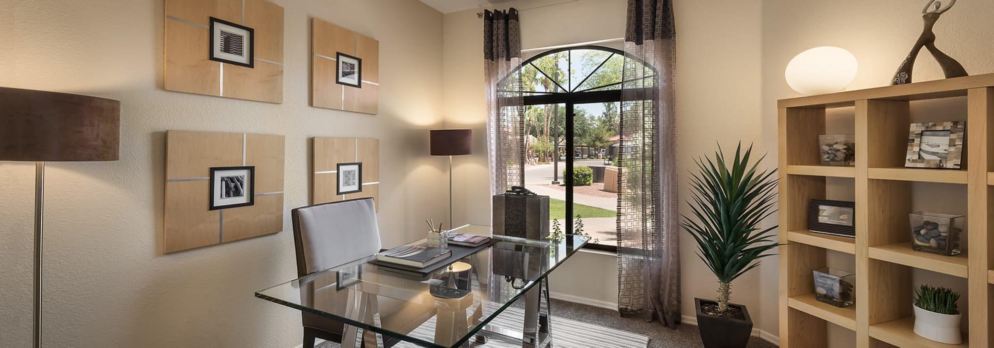 Luxury bedroom or office at San Cervantes in Chandler, Arizona