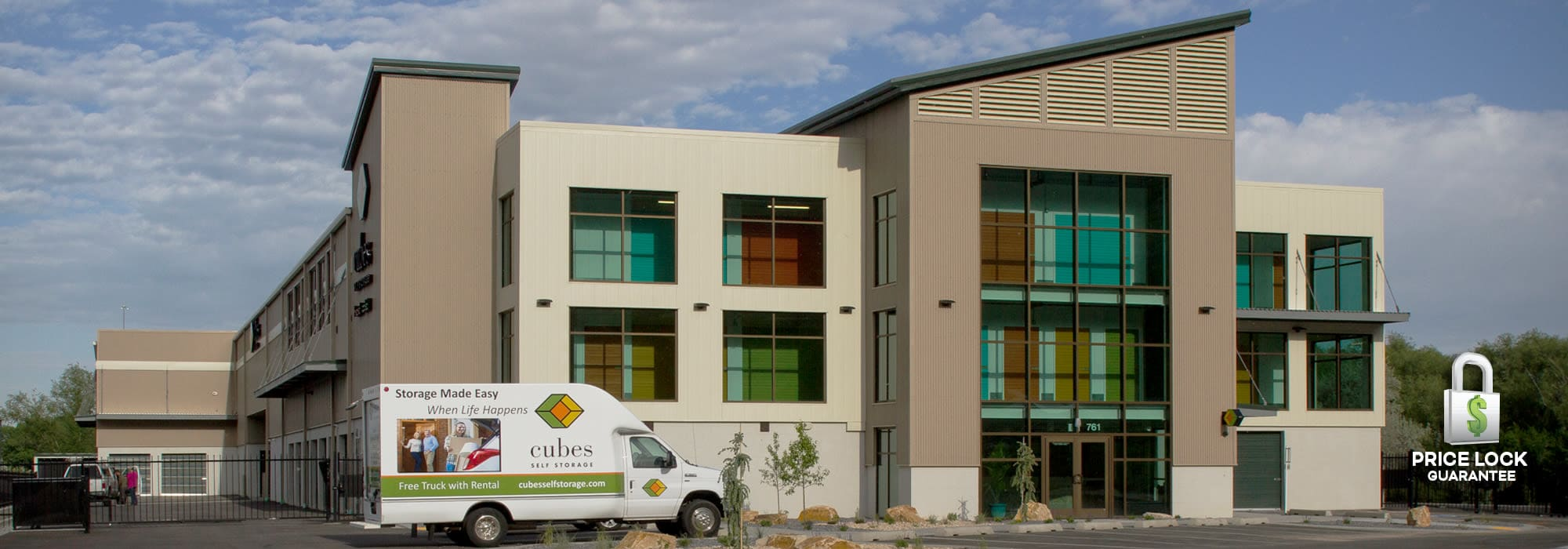 Cubes Self Storage in Farmington, Utah