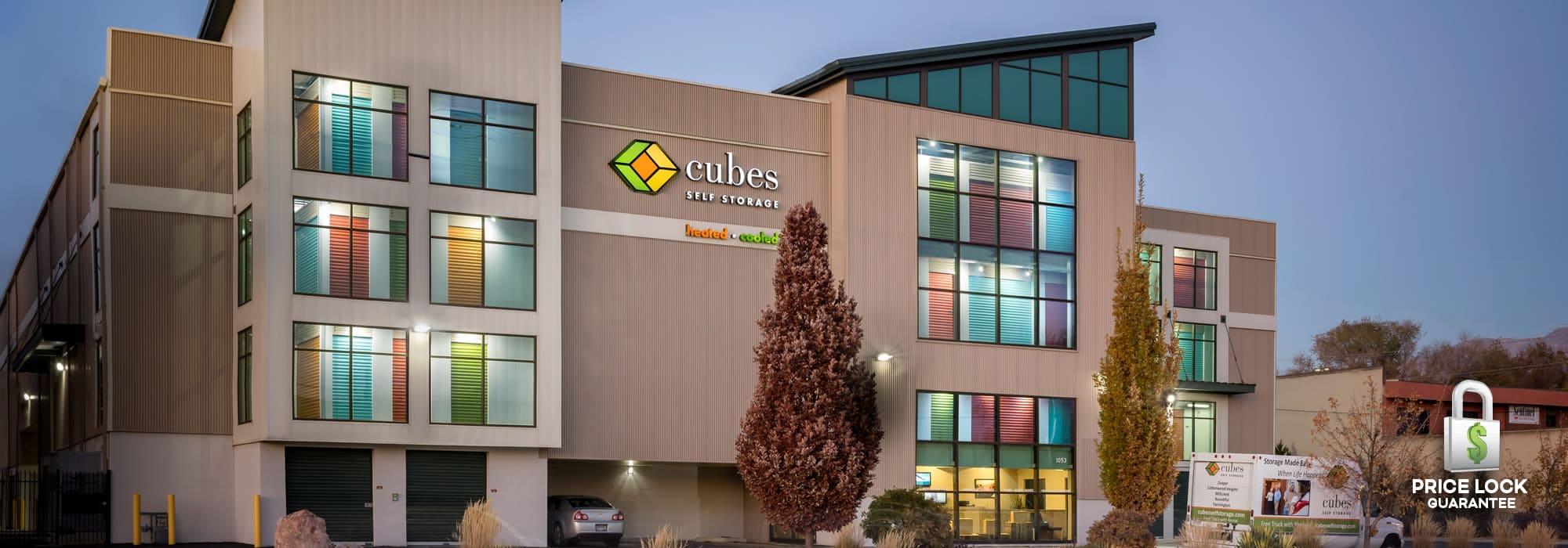Cubes Self Storage in Millcreek, Utah