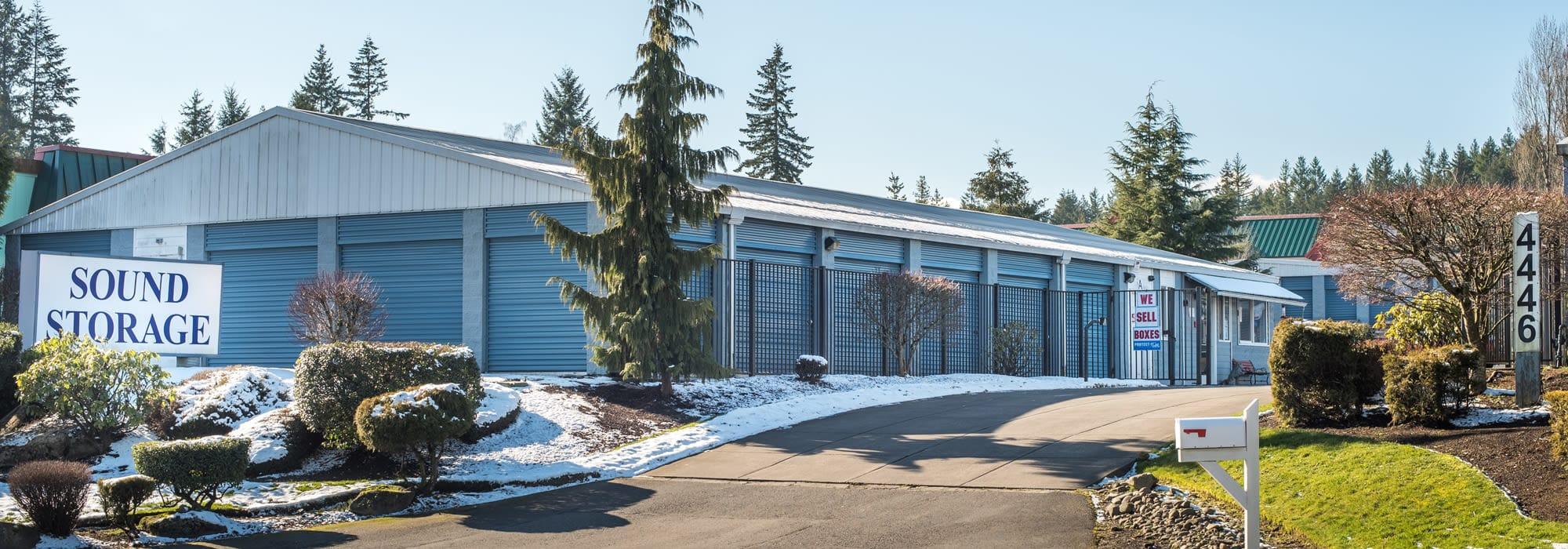 Sound Storage in Port Orchard, Washington