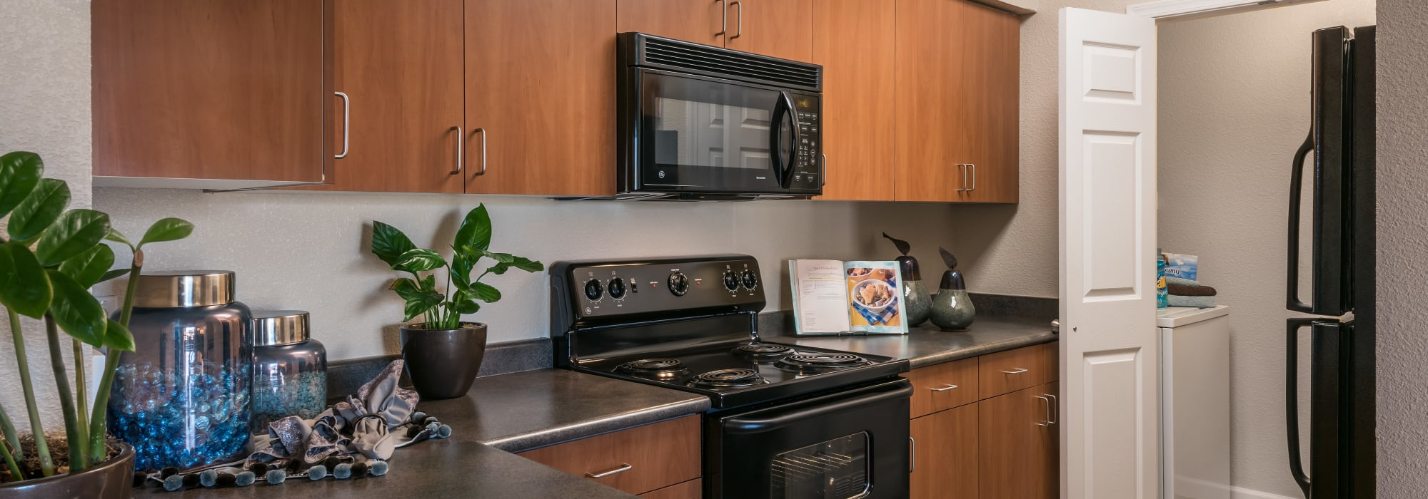 Apartments with luxury kitchens at Azul at Spectrum in Gilbert, Arizona