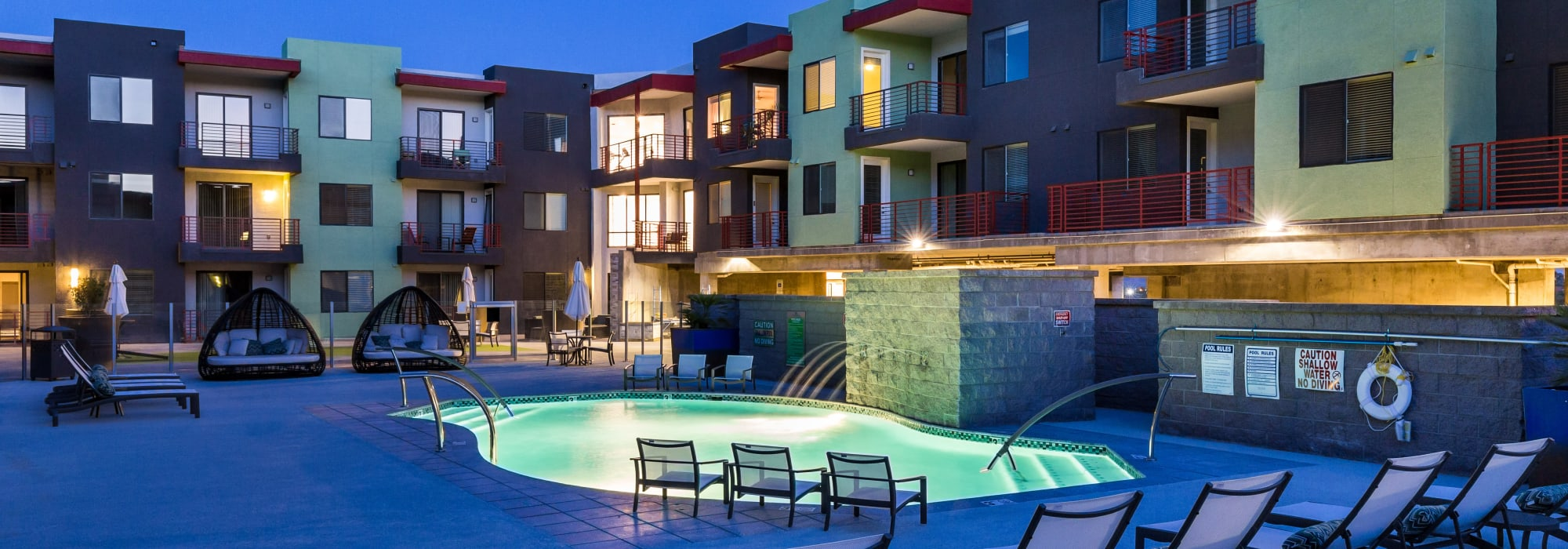 Beautiful lounge area at Park Place at Fountain Hills in Fountain Hills, Arizona