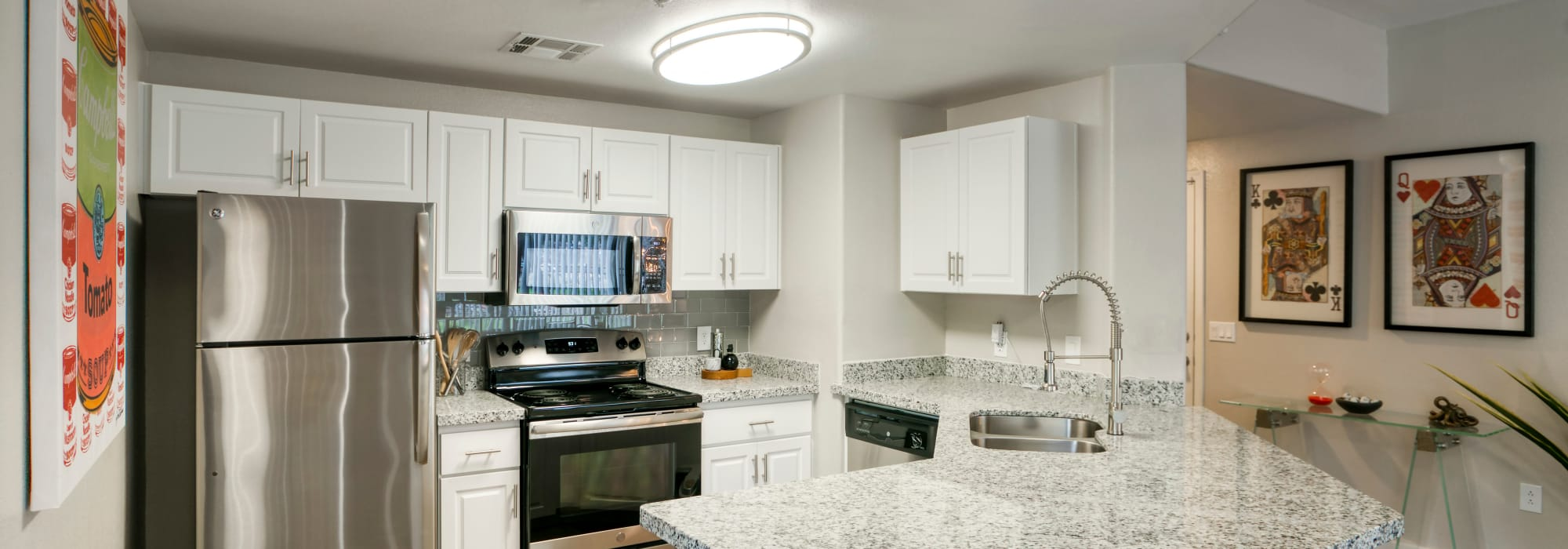 Stainless Steel Appliances at Waterside at Ocotillo