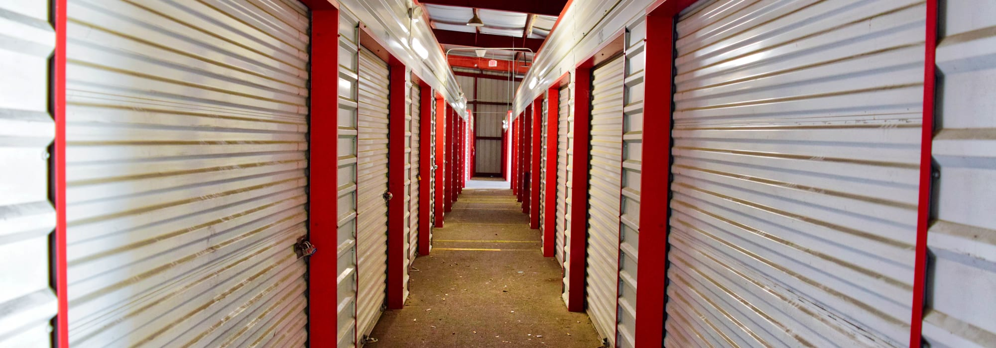 Interior Units at Lockaway Storage in Texarkana, Texas