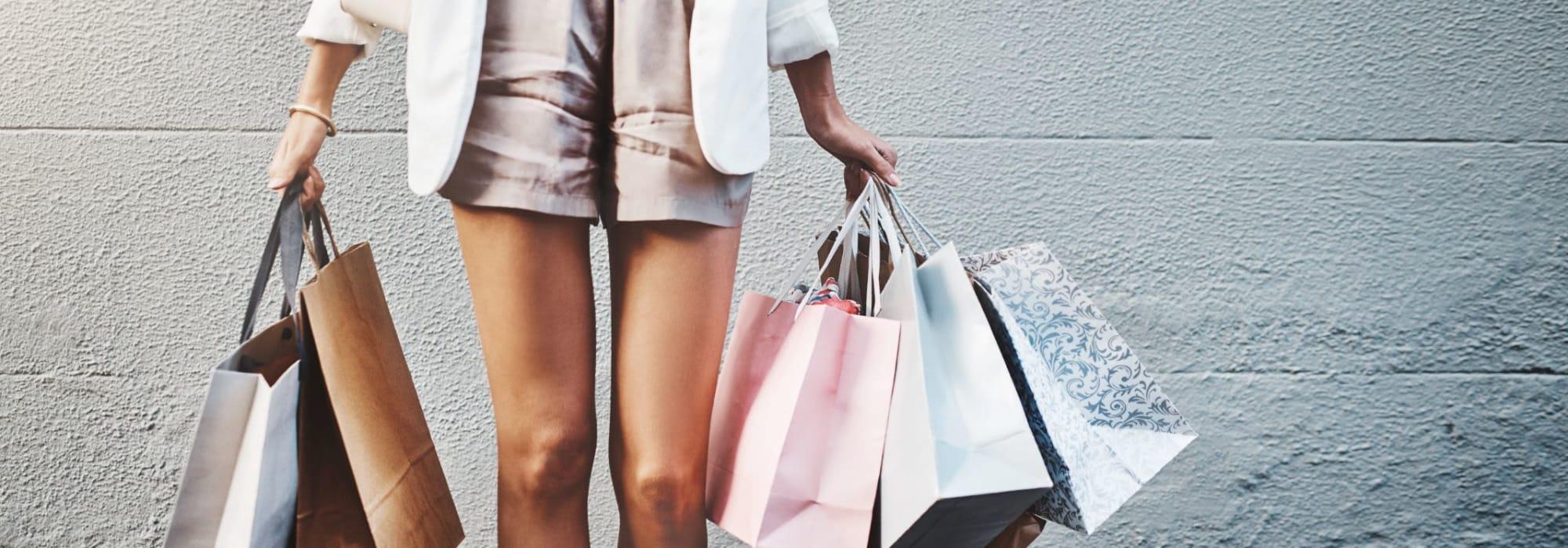 Resident shopping near San Artes in Scottsdale, Arizona
