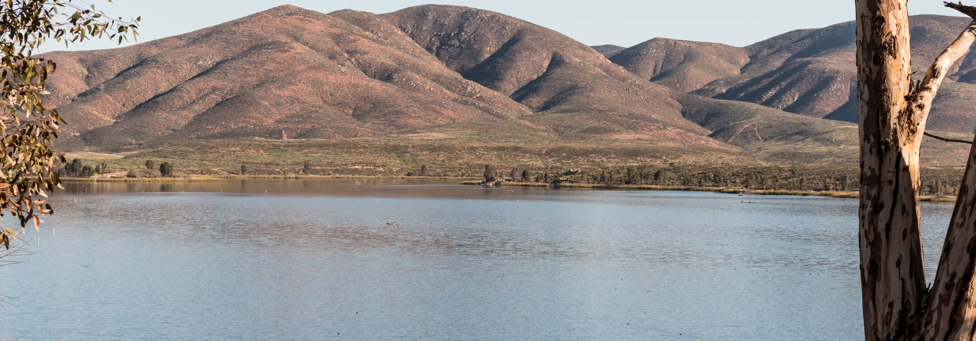 Lower Otay Lake near Smart Self Storage of Eastlake in Chula Vista, California