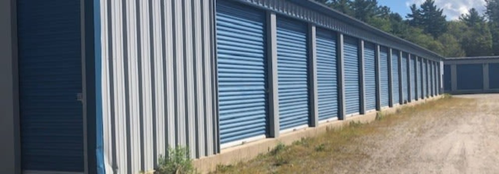 Exterior view of Apple Self Storage - Port Carling in Port Carling, Ontario