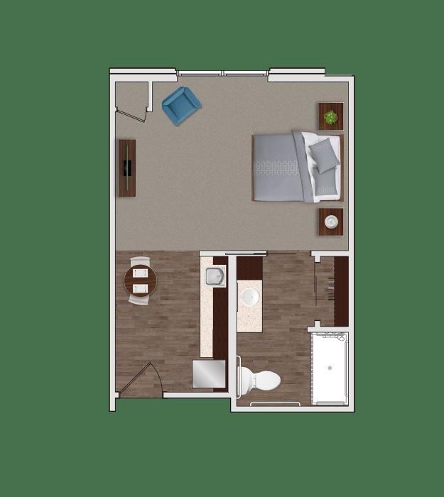 Assisted Living Designer Suite at Stonecrest of Rochester Hills