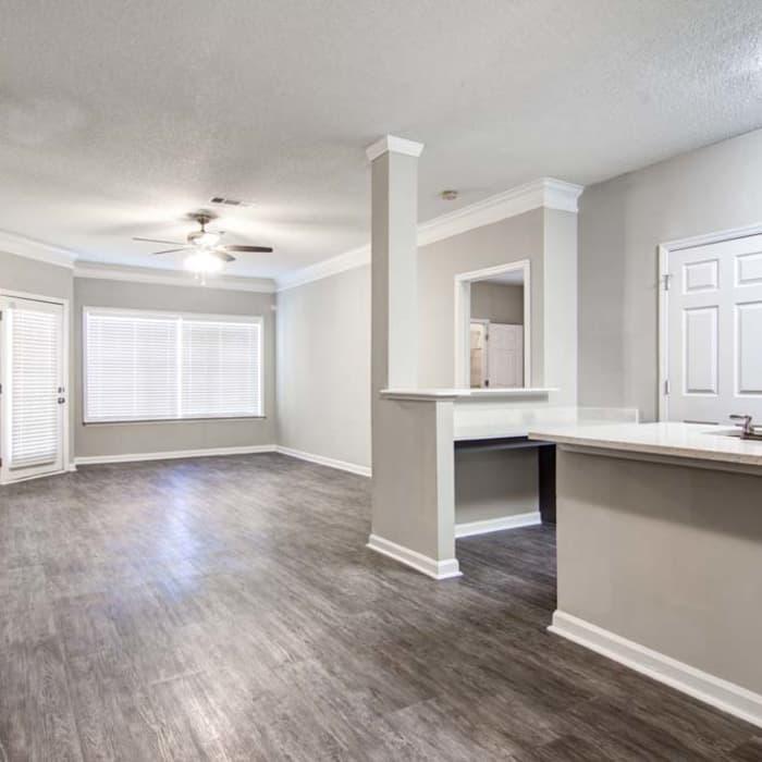 Floor plans at Jefferson at Perimeter Apartments