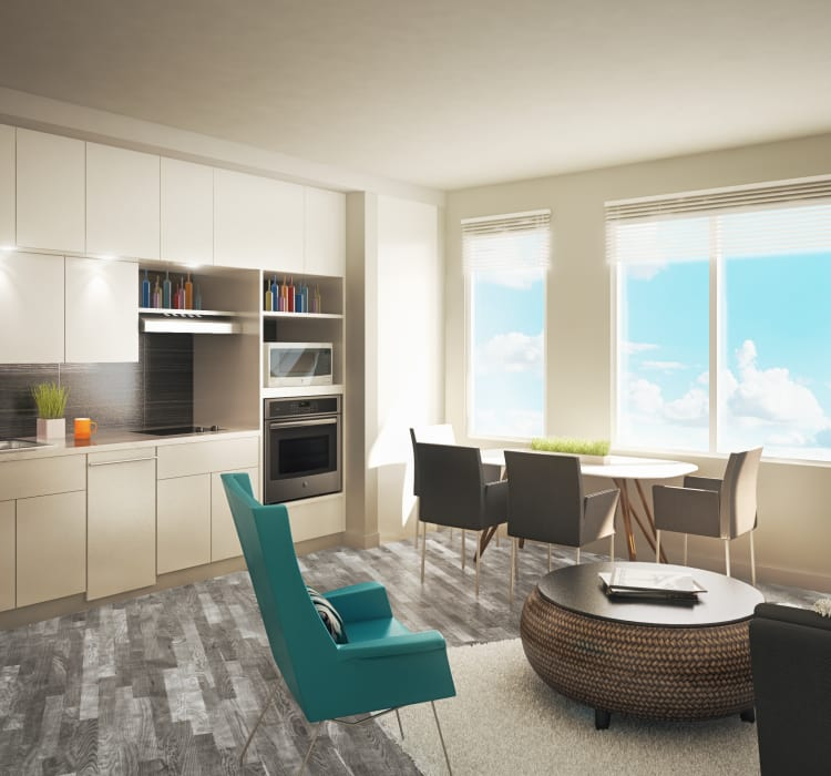 Luxury finishes at AdMo Heights