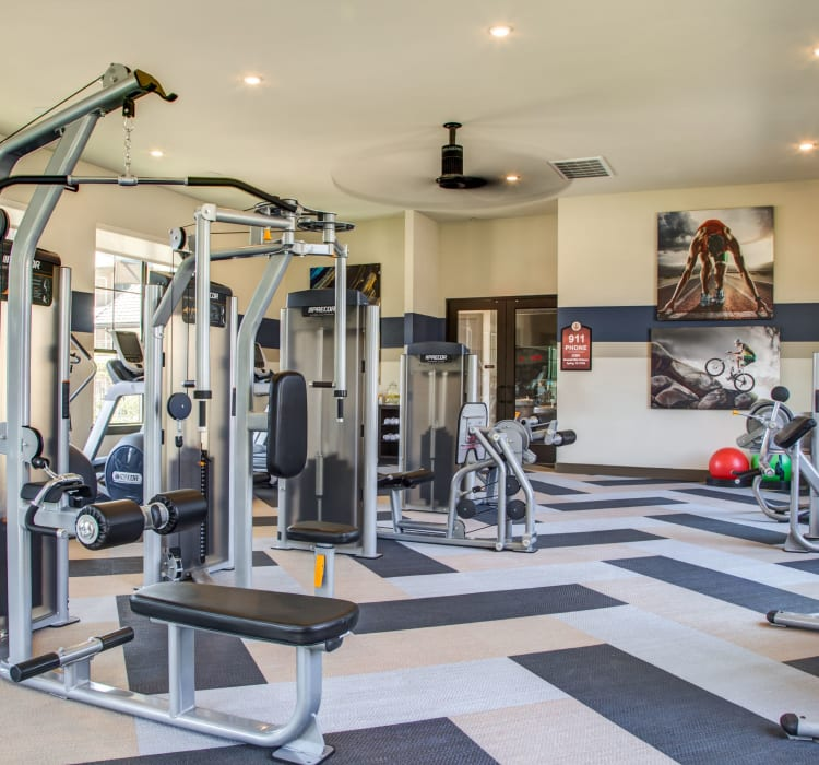 Gym at Waterford Trails in Spring, Texas