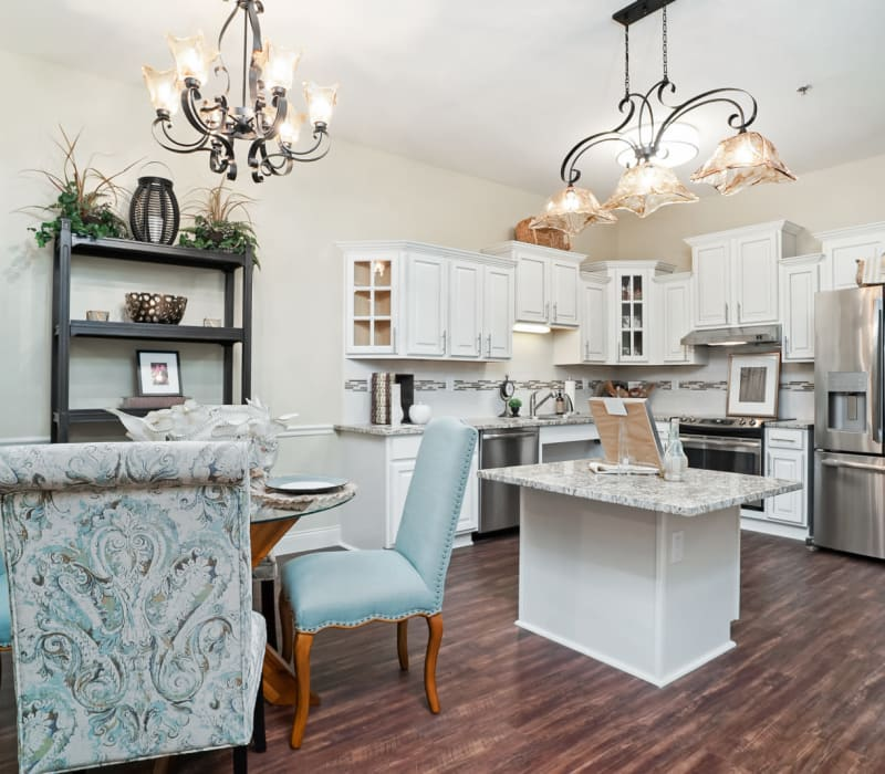 Spacious kitchens available at Celebration Village in Acworth, Georgia