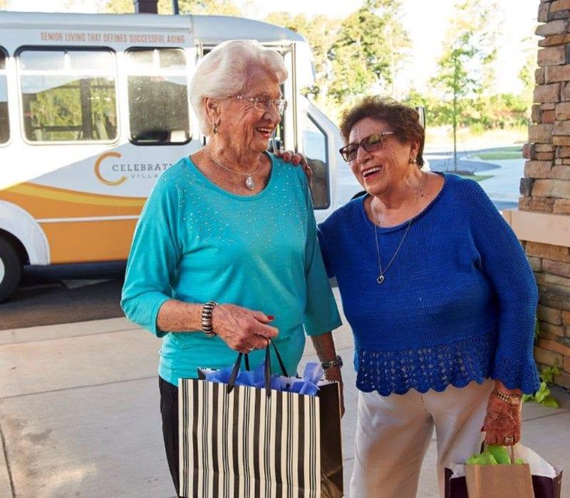 Residents go shopping at Celebration Village Forsyth in Suwanee, Georgia