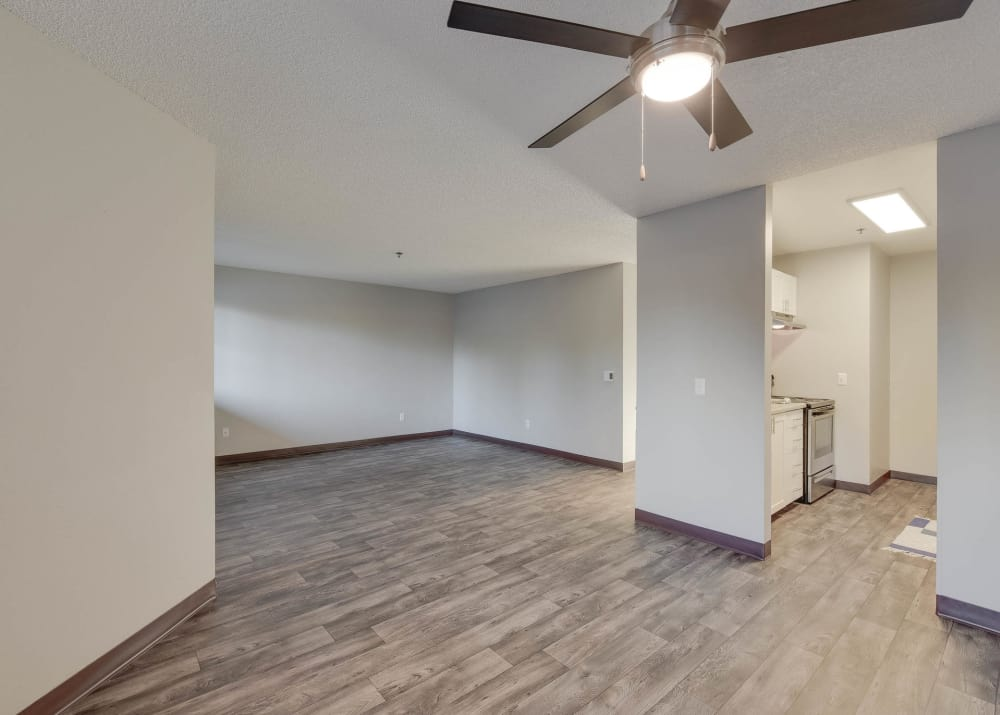 Dining room at Bridge Creek Apartments in Vancouver,Washington