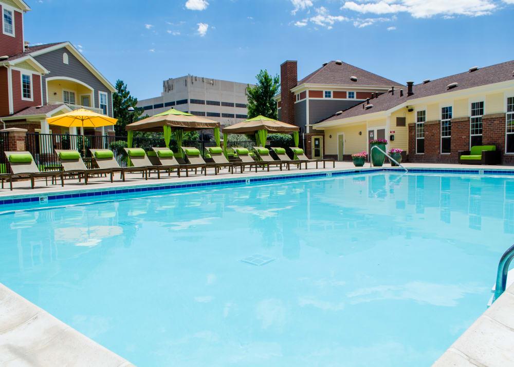 Pool at Bear Valley Park in Denver, Colorado