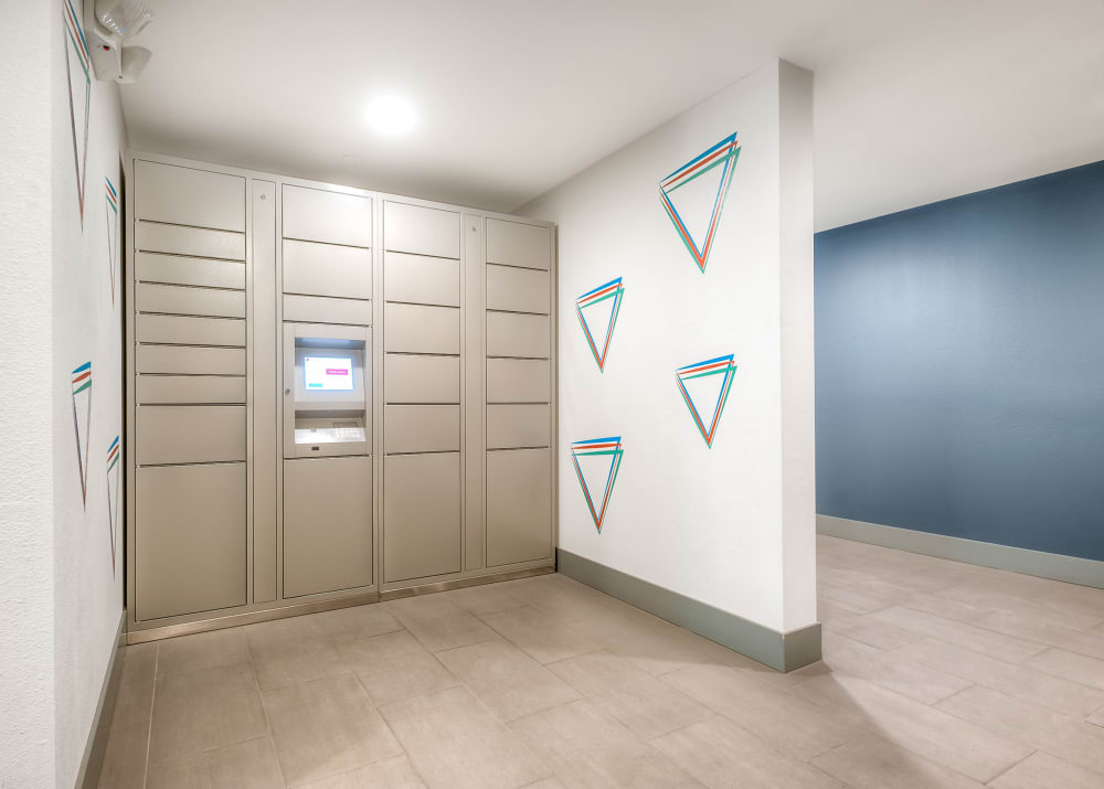 24-Hour Package lockers at Tria Apartments in Newcastle, WA