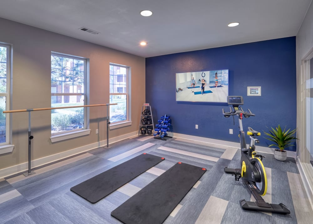 Newly Renovated Fitness on Demand Room