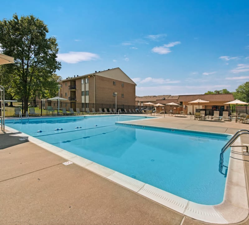 The fitness center at Heritage Woods in Bel Air, Maryland