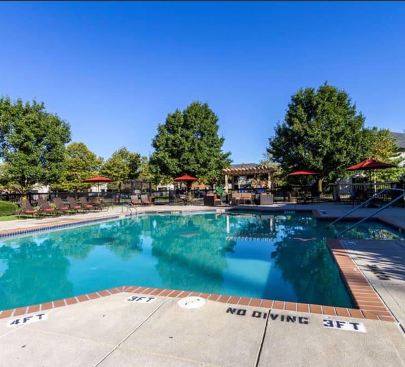 Beautiful pool at Heritage Green in Hilliard, Ohio