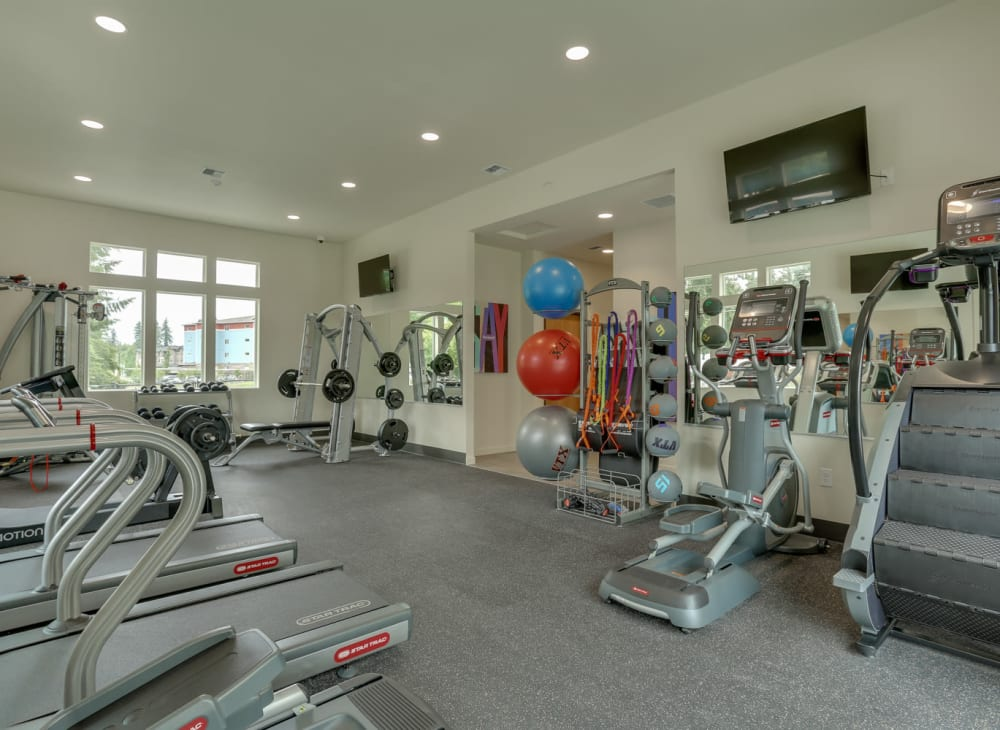 Fitness Center, at Haven Hills in Vancouver, Washington
