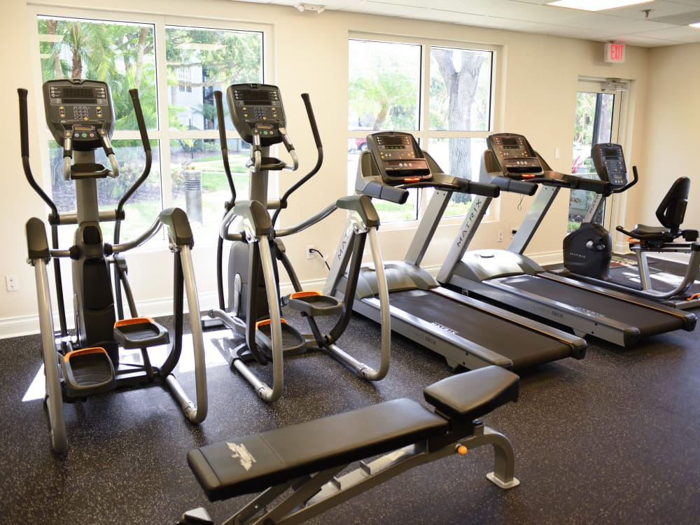 Fitness Room at Meadow Brook Preserve in Naples, FL