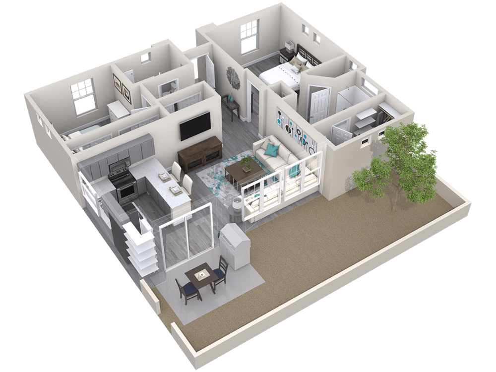 Avilla Camelback Ranch offers 3D floor plans in Phoenix, Arizona