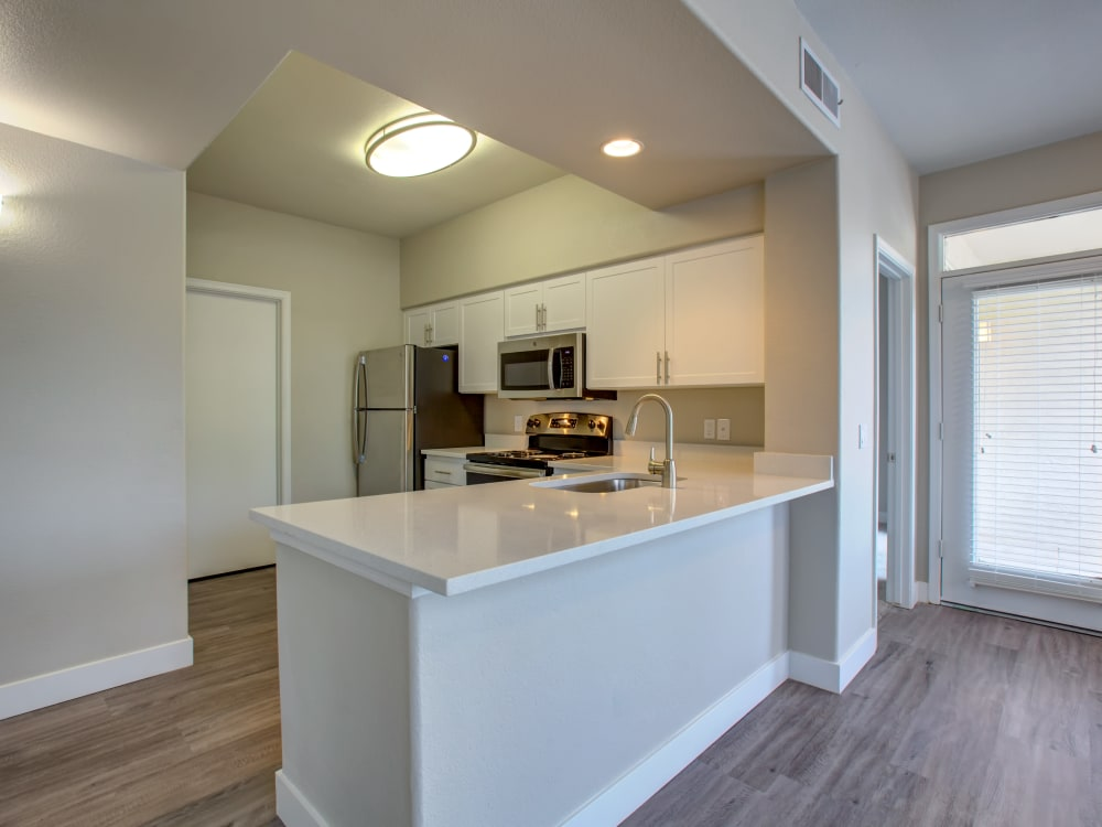 Kitchen at Apartments in Phoenix, Arizona