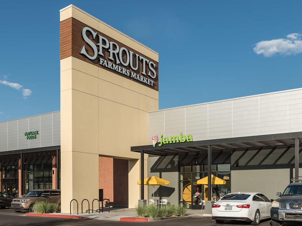 Large Organic Market near The Astor at Osborn in Phoenix, Arizona