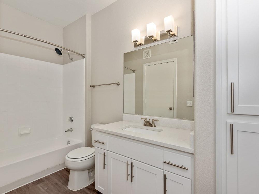 Bathroom at The Retreat Apartments in Phoenix, AZ