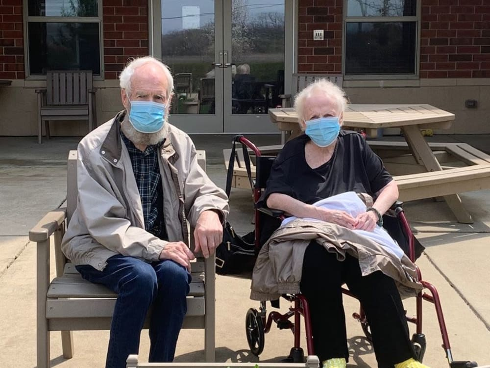 Couple at at Victory Centre of Bartlett