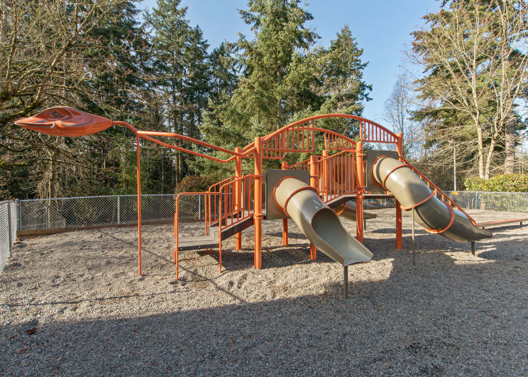 On-site playground at The Row in Kent