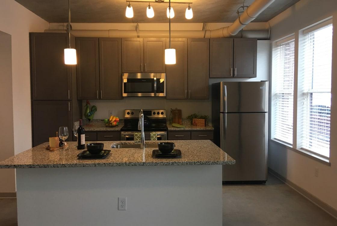 Kitchen at The Edge in Richmond, VA