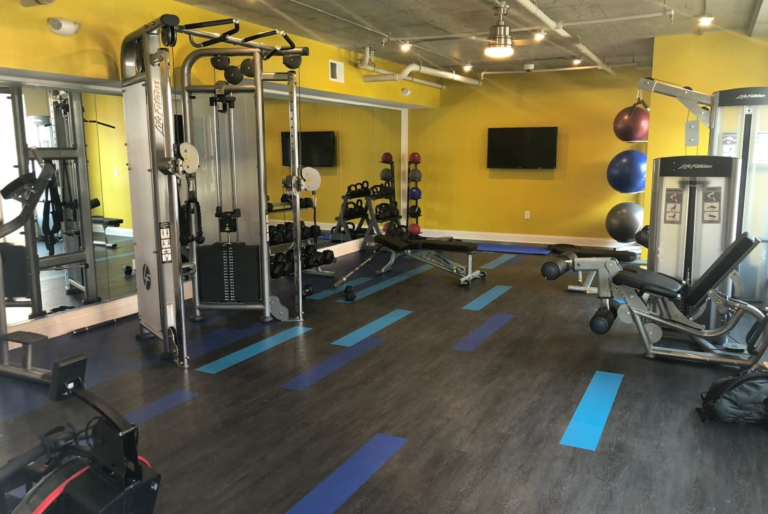 Gym at The Edge | Apartments in Richmond, VA