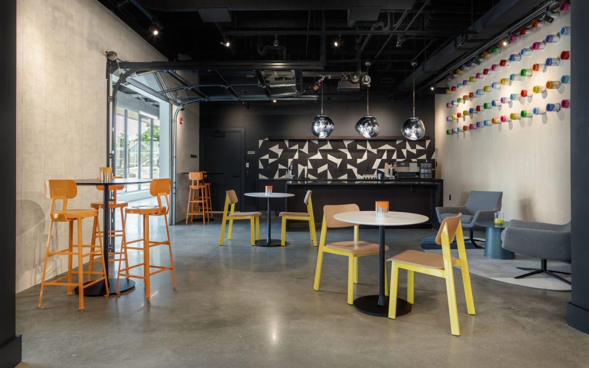 Modern open concept floor plans at Arthaus Apartments in Allston, Massachusetts