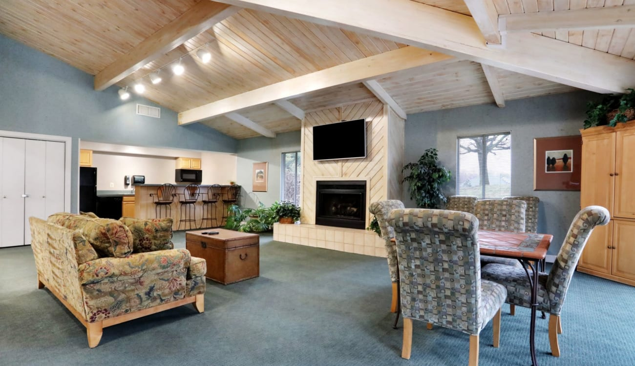 Clubhouse at Peppertree Apartments in Winchester, Virginia