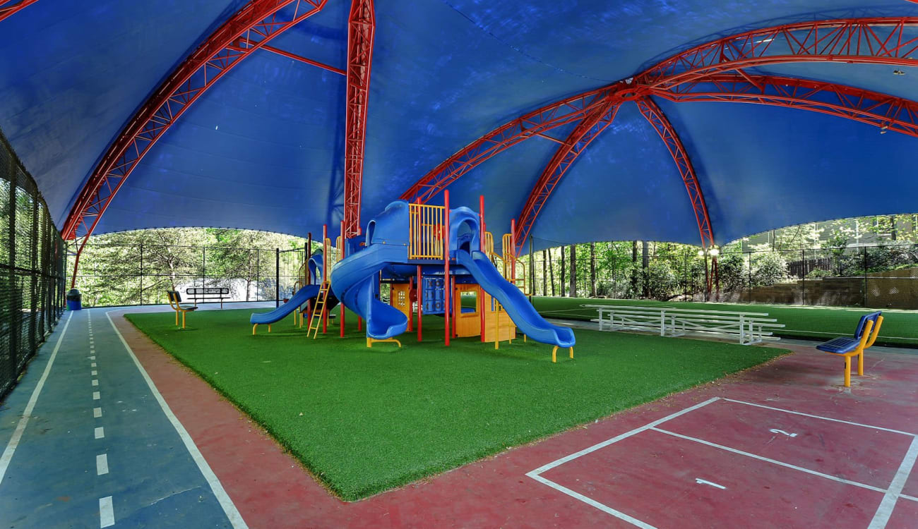 Playground at Forest Cove in Doraville, Georgia