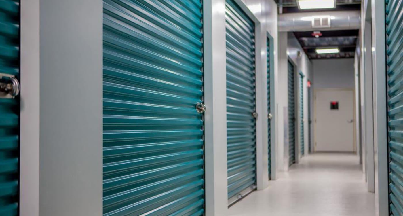Interior units at Atlantic Self Storage location in Jacksonville