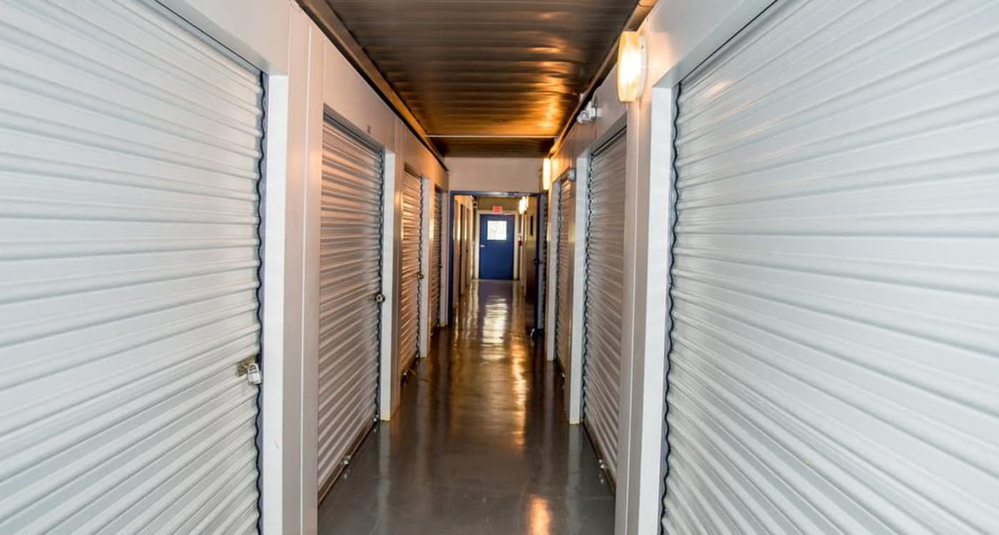 Interior units at Atlantic Self Storage location in Jacksonville
